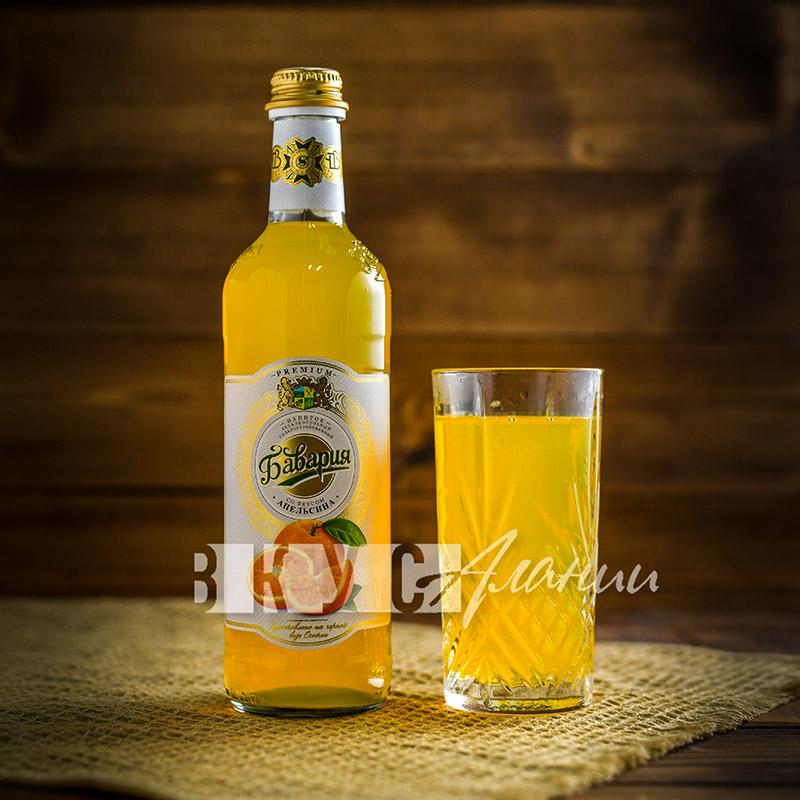 """Газированный напиток """"Апельсин"""" 0,5 л., Бавария"""