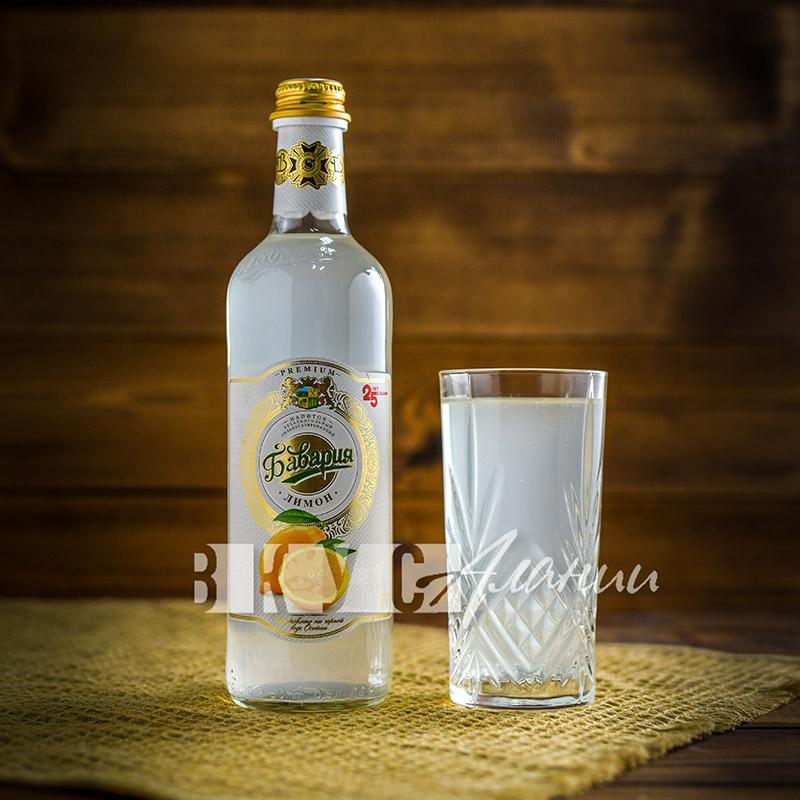 """Газированный напиток """"Лимон"""" 0,5 л., Бавария"""