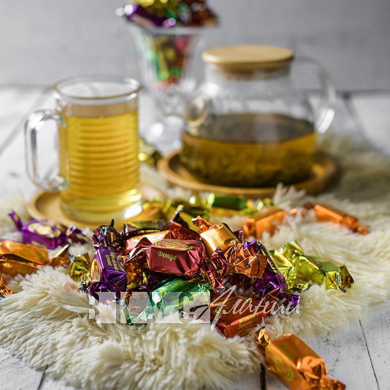 """Шоколадные конфеты """"Дамзофф"""", 1000 гр."""