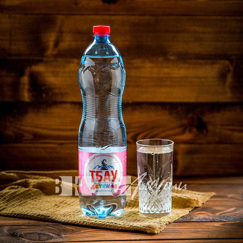 Минеральная вода «ТБАУ. Детская» негазированная 1,5 л.
