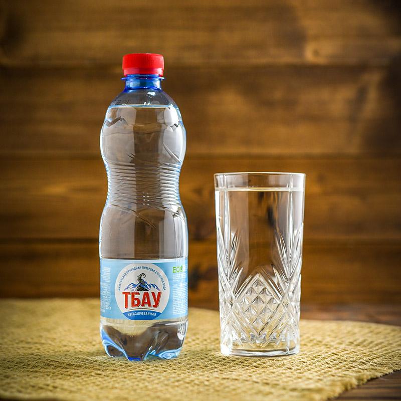 """Минеральная вода """"Тбау"""" негазированная, 0,5 л. (ПЭТ)"""