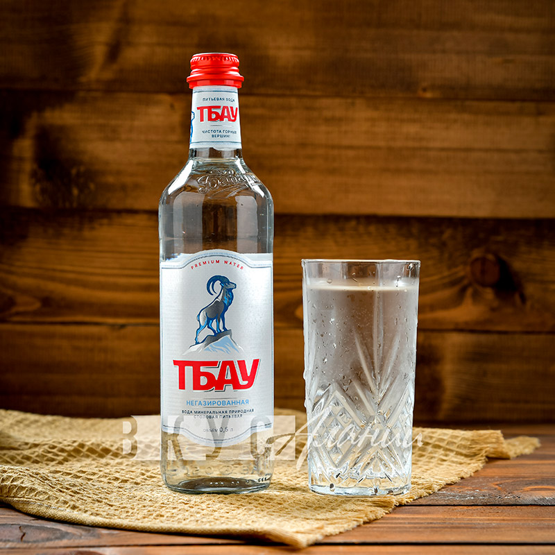 """Минеральная вода """"Тбау Премиум"""" негазированная  0,5 л."""