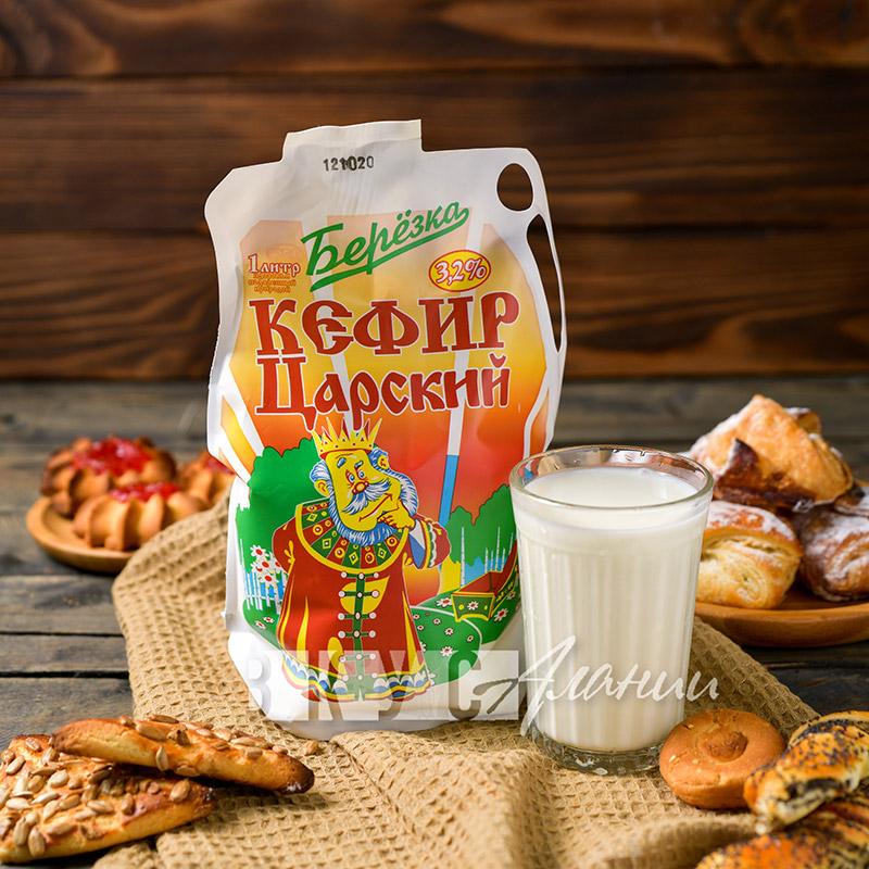 """Кефир """"Берёзка"""" 3,2%, 1000 гр."""