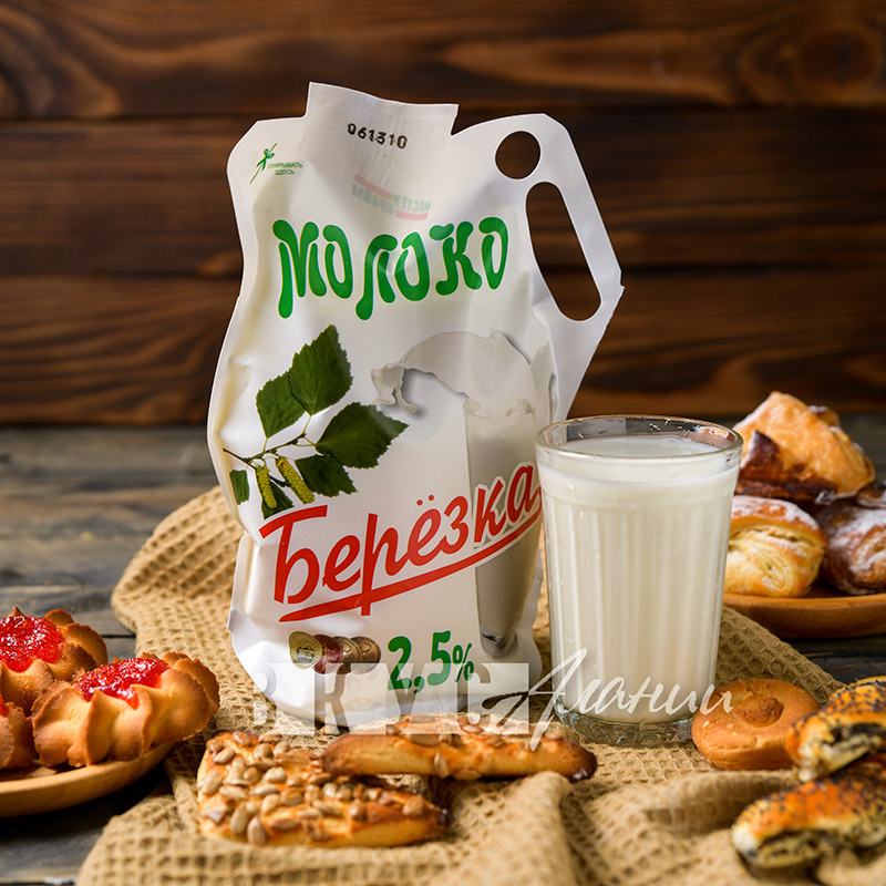 """Молоко """"Берёзка"""" 2,5%, 1000 гр."""