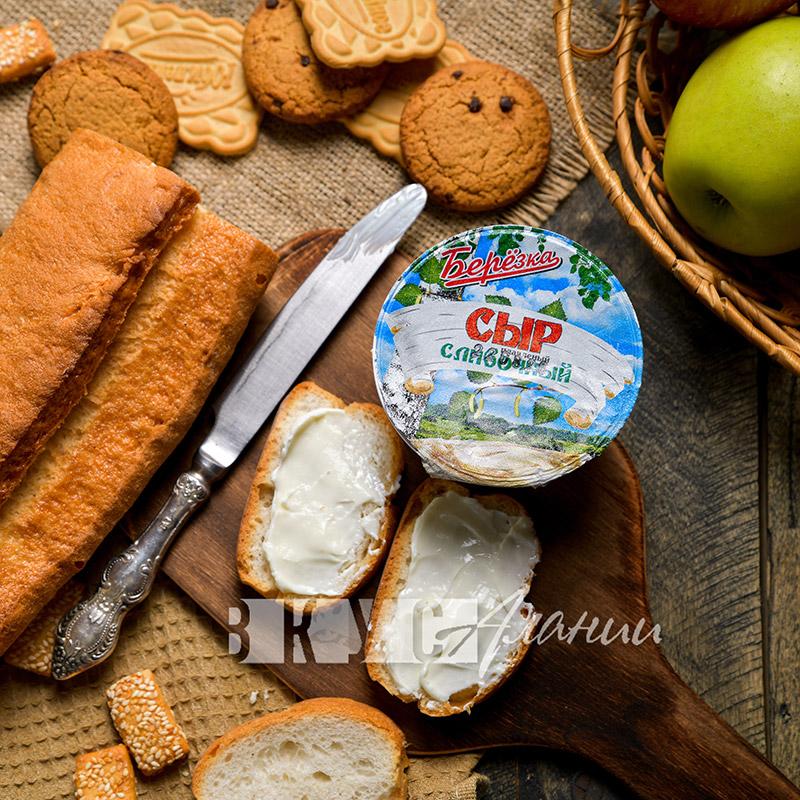 """Сыр плавленый """"Сливочный""""  0,15 кг"""