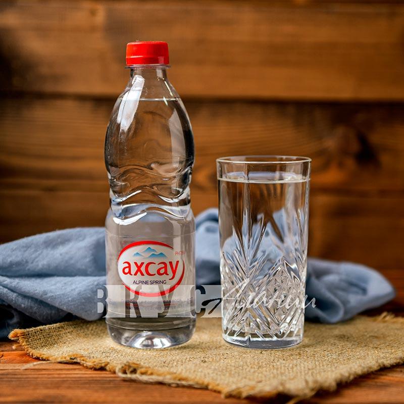 """Минеральная вода """"Ахсау"""" негазированная, 0.5 л.,  (ПЭТ)"""