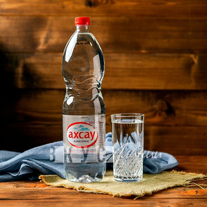 """Минеральная вода """"Ахсау"""" негазированная, 1.5 л., (ПЭТ)"""