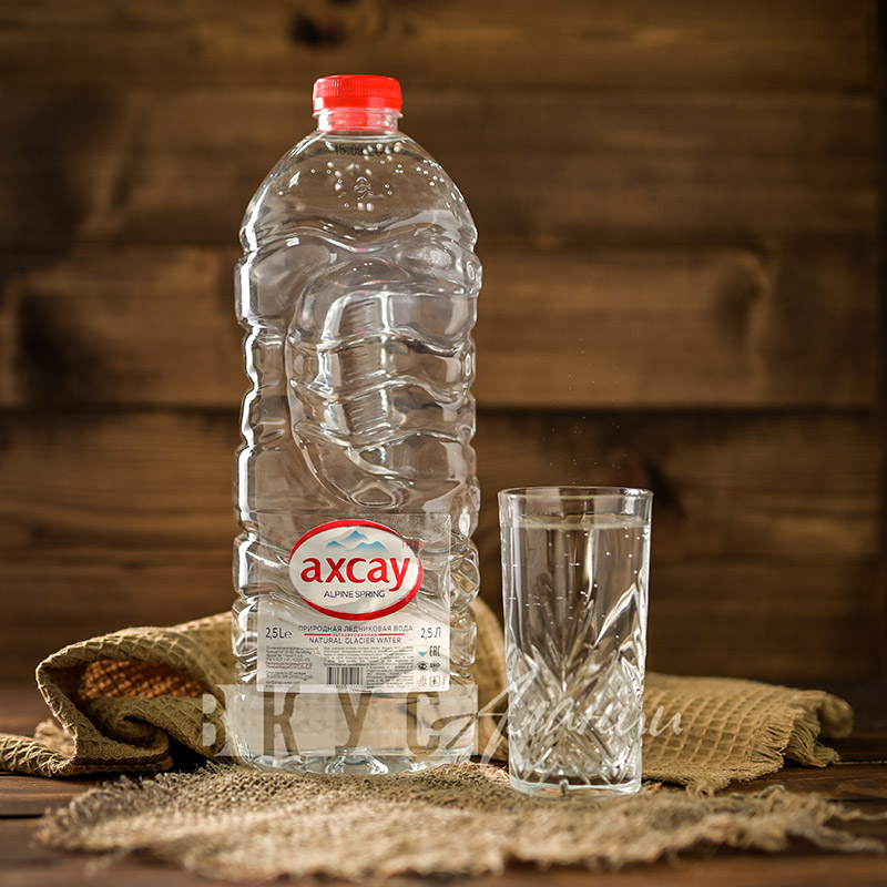"""Минеральная вода """"Ахсау"""" негазированная, 2.5 л., (ПЭТ)"""