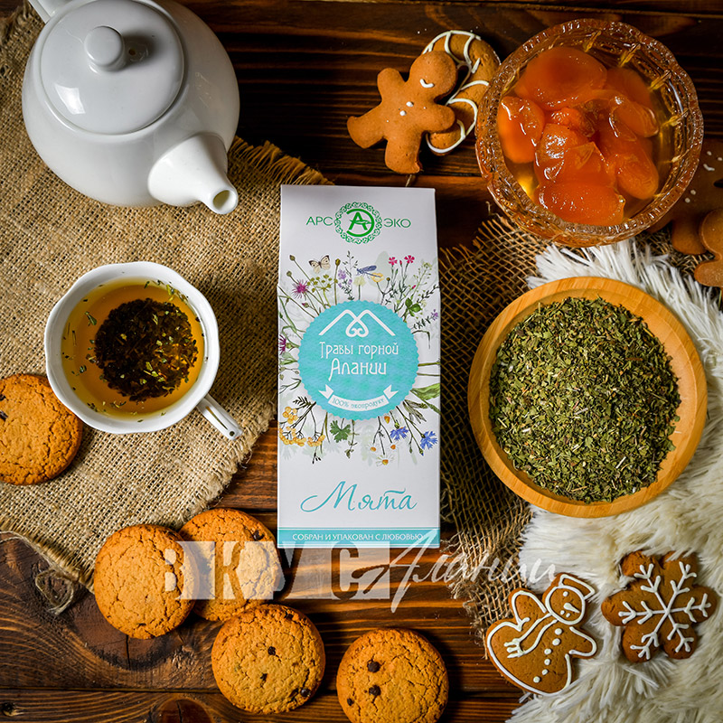 Травы горной Алании «Мята», чай