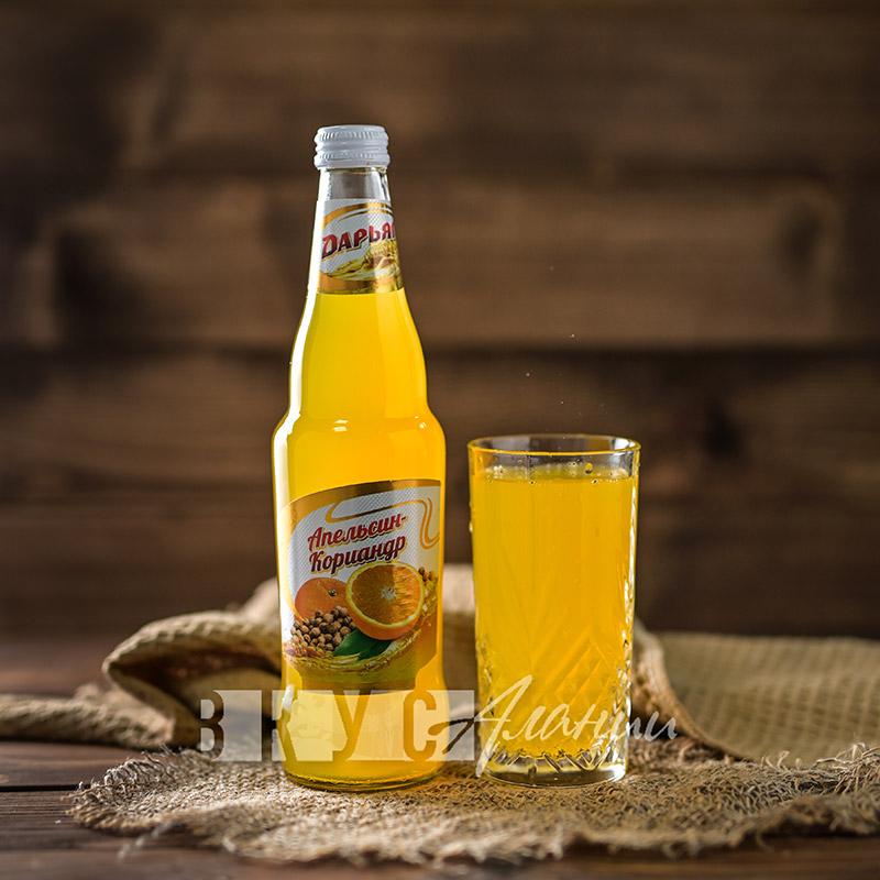 "Газированный напиток ""Апельсин-кориандр"", Дарьял"