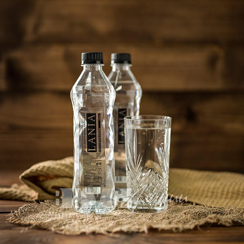 Вода природная питьевая «LANIA» негазированная, 450 мл.