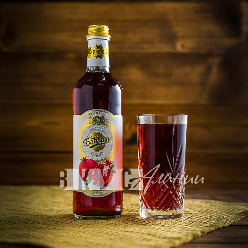"""Газированный напиток: """"Гранат"""" 0,5 л., Бавария"""