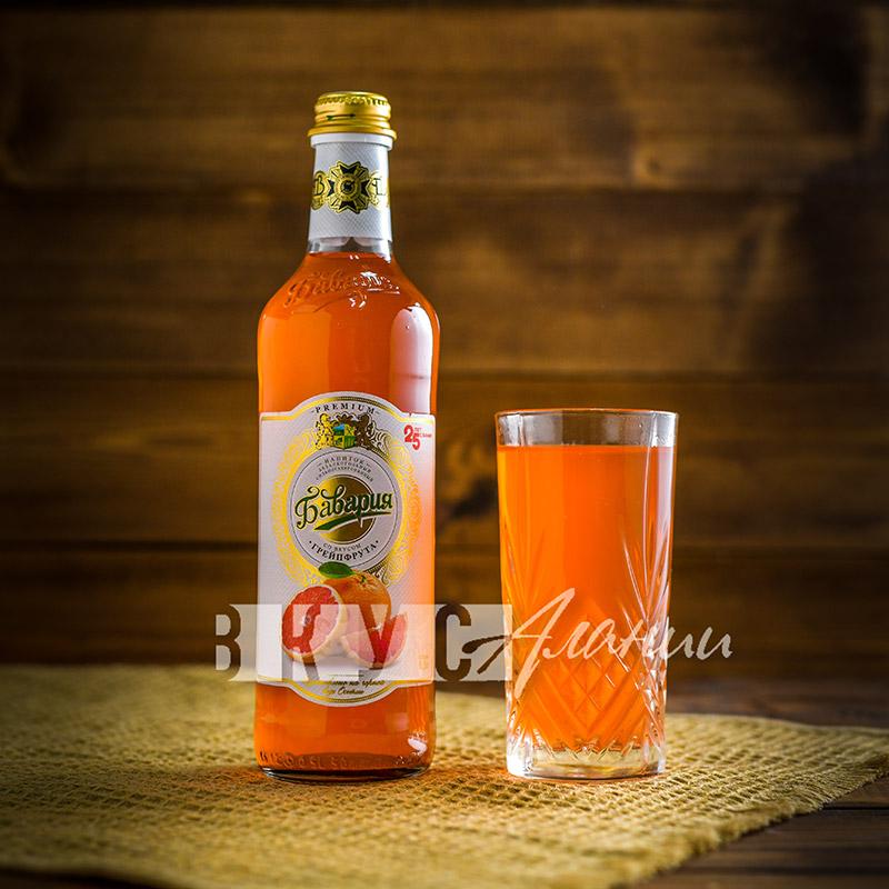 "Газированный напиток: ""Грейпфрут"" 0,5 л., Бавария"
