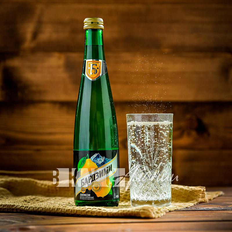Лимонад Бардзими «Лимон», 450 мл.